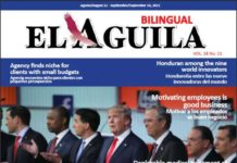 El Aguila News Digital Edition August - September 2015 Cover
