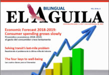 El Aguila News december - February-2018 Cover