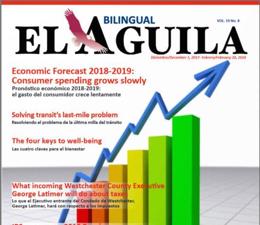 El Aguila News december - February-2018 Cover