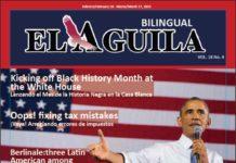 El Aguila News Digital Edition February - March 2015 Cover