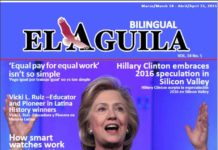 El Aguila News Digital Edition March - April 2015 Cover