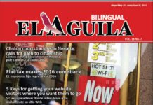 El Aguila News Digital Edition May - June 2015 Cover
