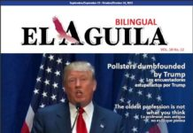 El Aguila News Digital Edition September - October 2015 Cover