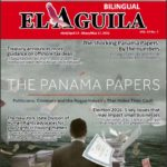 El Aguila News Digital Edition April - May 2016 cover