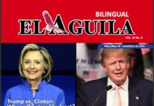 El Aguila News Digital Edition May - June 2016 Cover