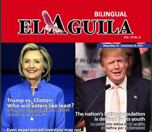 El Aguila News Digital Edition May - June 2016 Cover