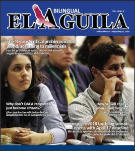 el aguila news digital edition march 2018 cover